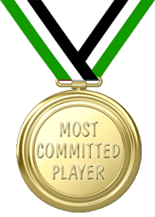 Most committed player