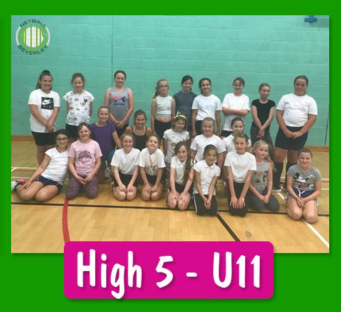 Allus High 5 U11 2019-20