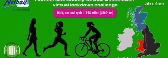 Humberside County Netball Association virtual lockdown challenge